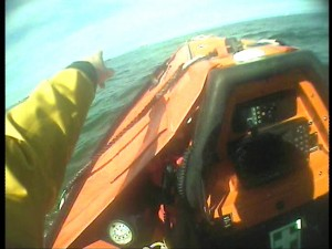 2014-06-14 - Blyth Lifeboat Launched To Reports Of A Lifeguard In Difficulty At Blyth Beach 2