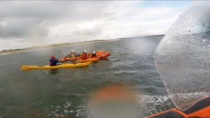 2014 06 29 - Blyth Lifeboat Assists Young Kayaker And Person In The Water, Blyth Beach 1
