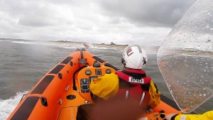 2014 06 29 - Blyth Lifeboat Assists Young Kayaker And Person In The Water, Blyth Beach 2