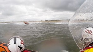 2014 06 29 - Blyth Lifeboat Assists Young Kayaker And Person In The Water, Blyth Beach 3