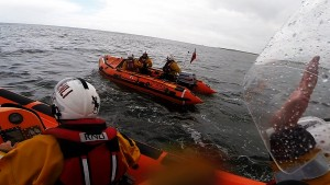 2014 06 29 - Blyth Lifeboat Assists Young Kayaker And Person In The Water, Blyth Beach 4