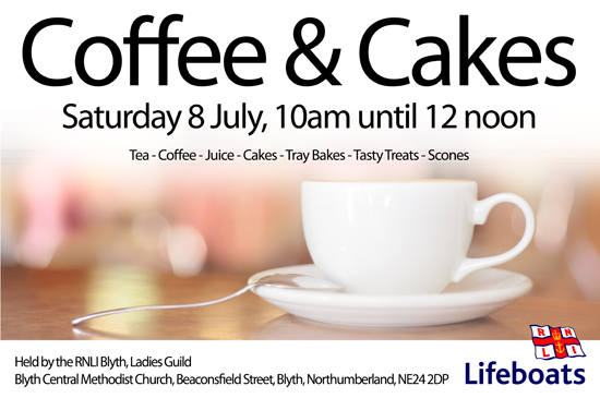 Blyth Coffee Morning Saturday 11th February