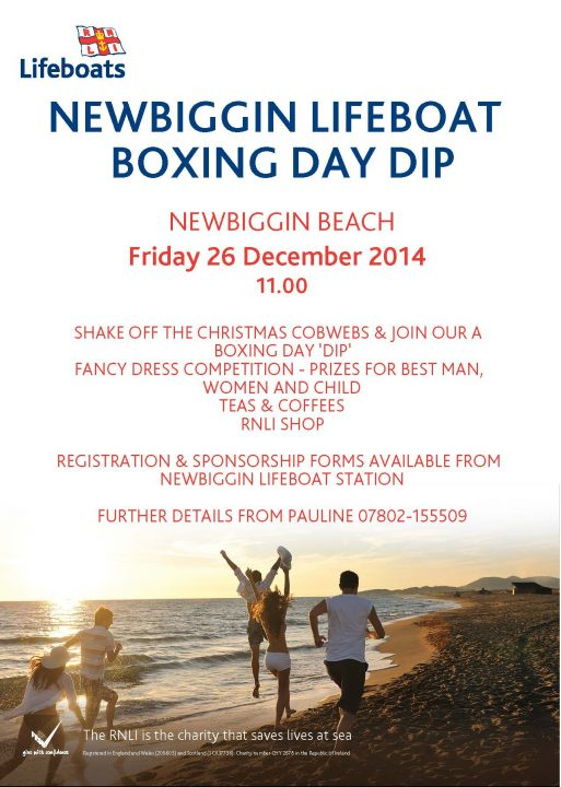 BOXING DAY DIP POSTER