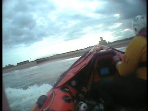 Blyth Lifeboat Beaching At Blyth - 2nd Call Of The Evening