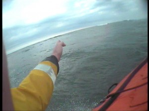 Blyth Lifeboat Finding Teenager In The Water - 2nd Call Of The Evening