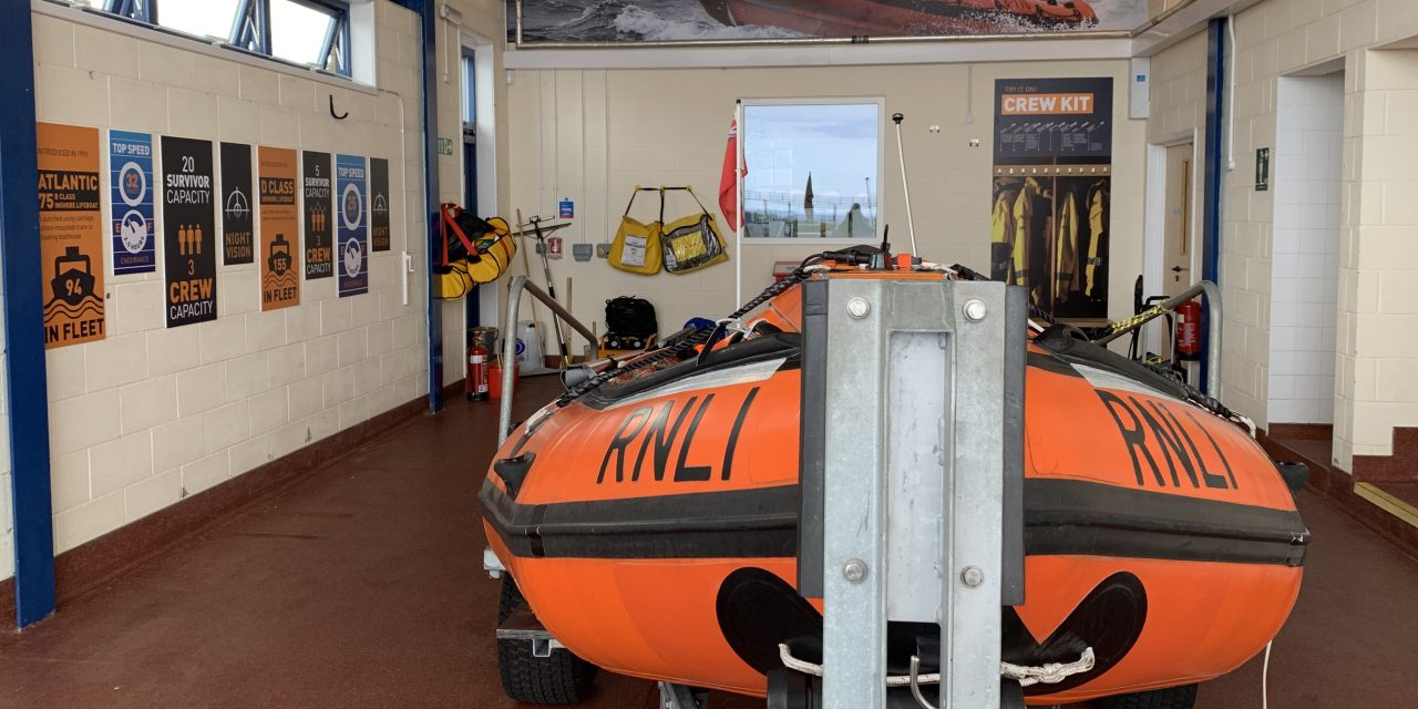 A new experience for visitors to Blyth RNLI